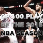 NBA2015シーズンの好プレイ トップ100