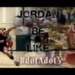 NBA選手のモノマネで名を馳せたBdotAdot5氏がついにジョーダンのモノマネを公開