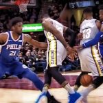 NBAファン騒然、レブロンジェームズが信じられないスーパープレイを披露