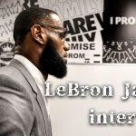 感動不可避。開校した学校への思い、レイカーズでのキャリア、家族などについて語ったレブロン・ジェームズのインタビューを和訳しました。