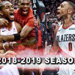 NBA 2018-2019シーズンミックスを公開