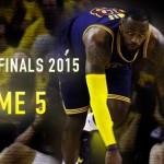 NBAファイナル第5戦 – レブロンのトリプルダブルも実らず、ウォーリアーズが優勝に王手をかける