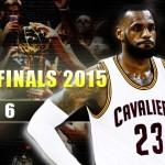 NBAファイナル第6戦 – レブロンの健闘も届かず、ウォーリアーズがNBA王者に輝く