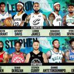 レブロンとカリーによるドラフトが大盛り上がり、NBAオールスター2018の全ロスターが決定