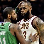 「NBAのMVPはレブロンだ」元チームメイトのカイリー・アービングがレブロンを支持