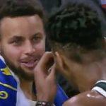 ステフィン・カリーがヤニス・アデトクンボを勧誘?試合後の会話で「やってやろうぜ、来いよ」